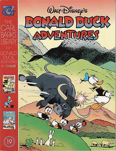 Carl Barks Library in Color Donald Duck Adventures 19