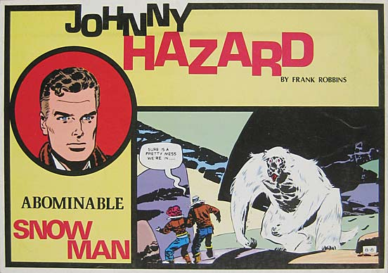 Johnny Hazard Abominable Snowman