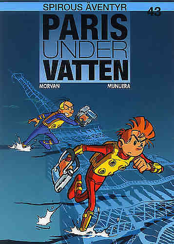 Spirou Bk 43 Paris under vatten