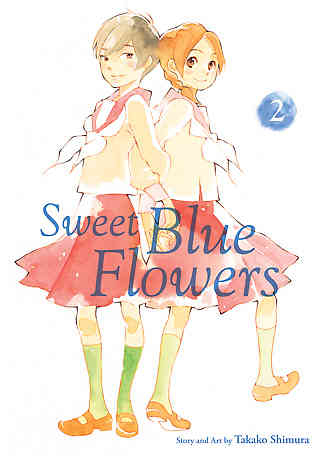 Sweet Blue Flowers Bk 02