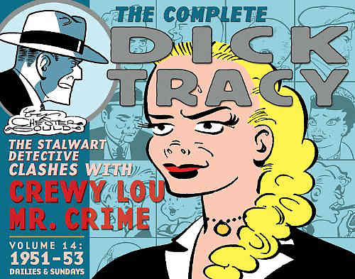 Complete Dick Tracy HC 14 Dailies & Sundays 1951 to 1953