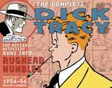 Complete Dick Tracy HC 16 Dailies & Sundays 1954 to 1956