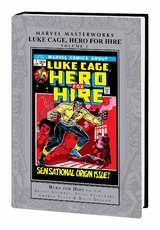 Marvel Masterwork Luke Cage Hero for Hire HC 01