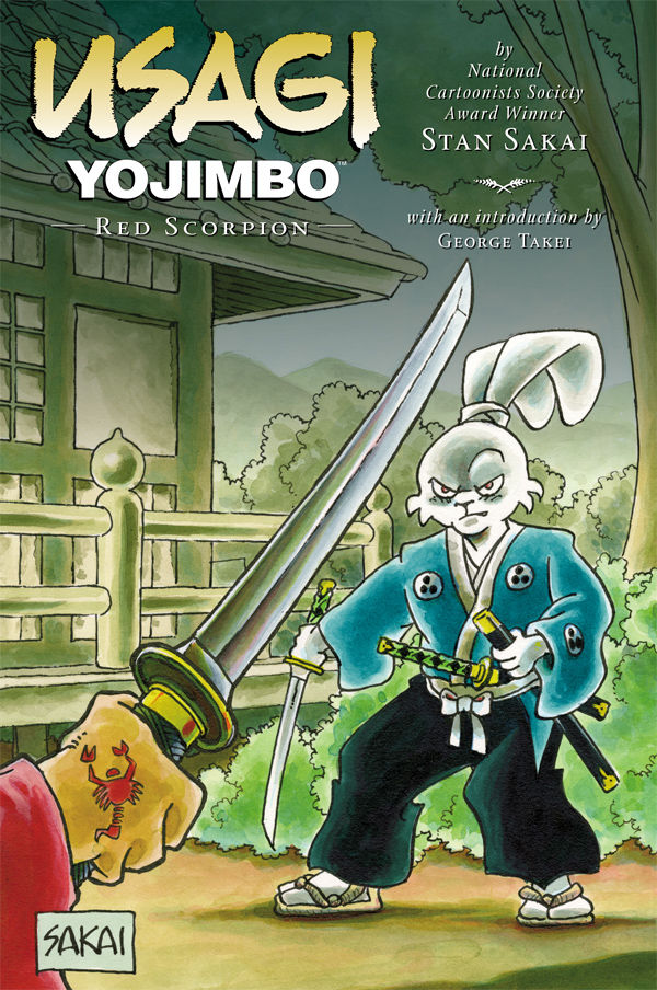 Usagi Yojimbo Bk 28 Red Scorpion