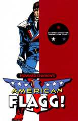 American Flagg Definitive Coll Bk 01