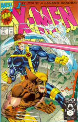 X-Men #001 (Wolverine, Cyclops, Iceman)